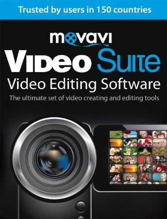 Movavi Video Suite 15 Video Editing Software Personal Download