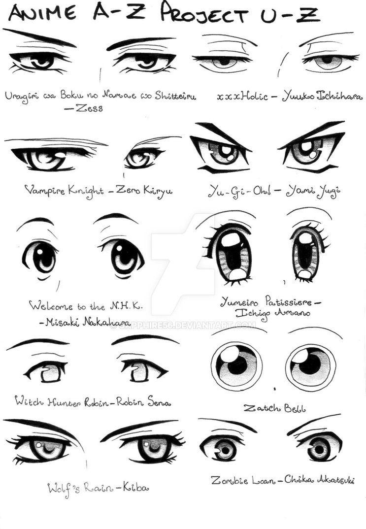 Anime A Z Project U Z By Sapphire56 On Deviantart Oc Reference