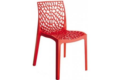Chaises design rouge GRUYER OPAQUE Home Pinterest