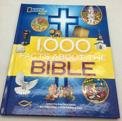 National Geographic Kids 1000 Facts About The Bible By Jean Pierre Isbouts  | eBay