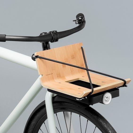 VANMOOF x Huys - bamboo rack. | Commuter bicycle, Bicycle