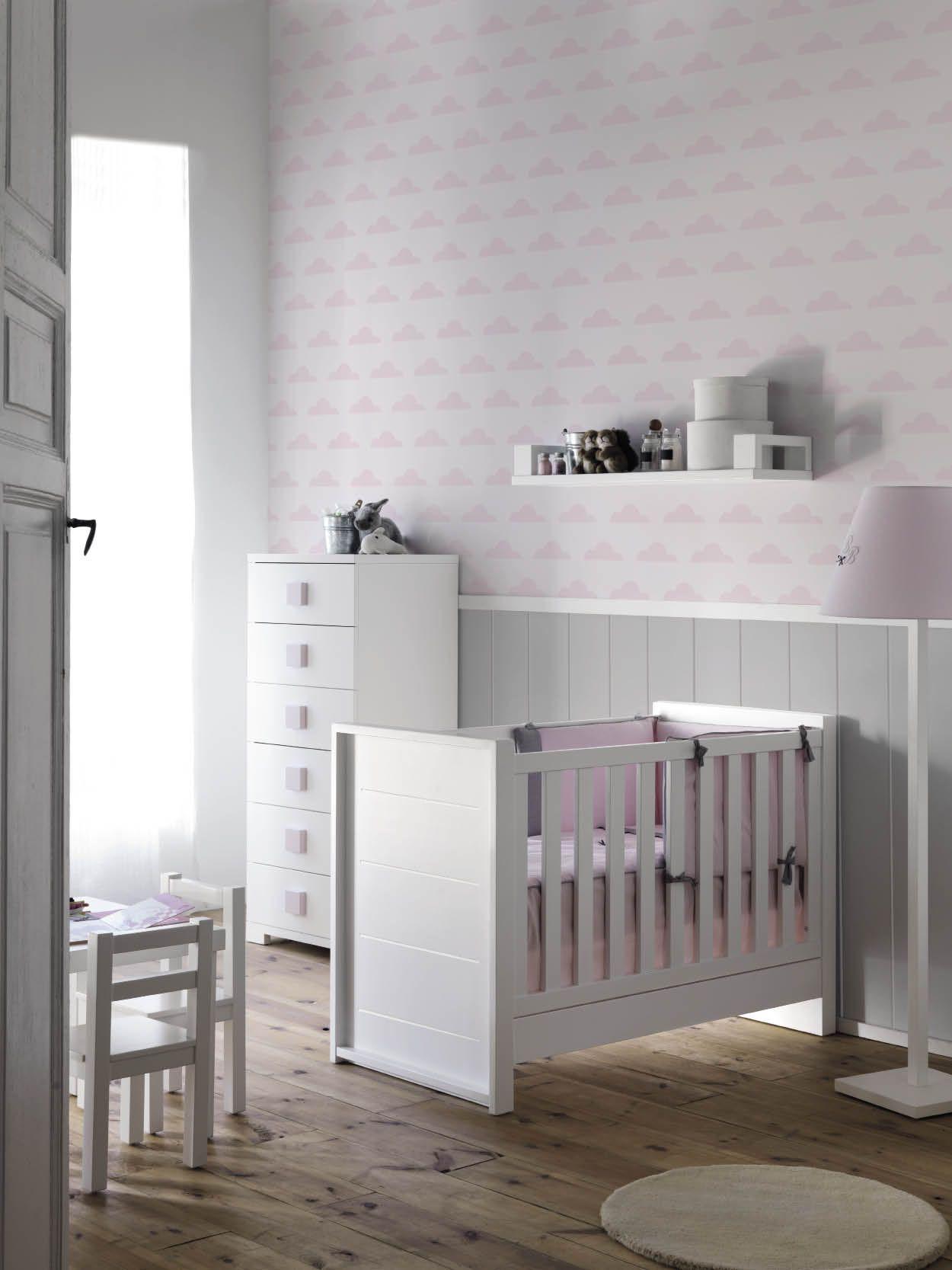 Cunas de madera para bebés #decoracion #blancas #nordica | Baby ...