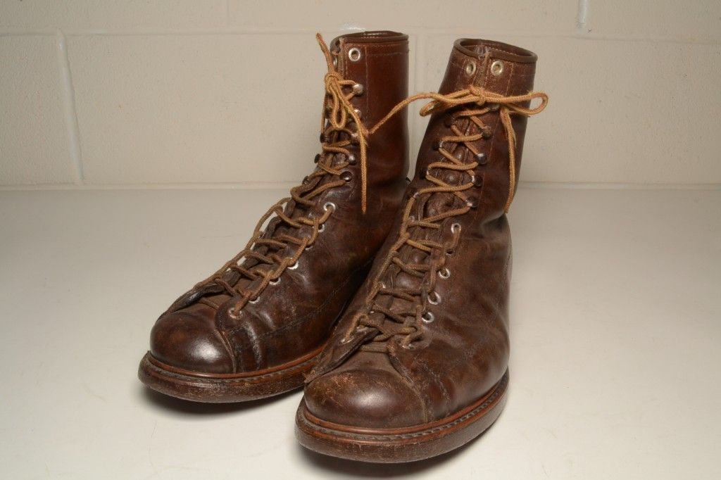 "e418c4ae1bf Vintage Sears Roebuck ""Wearmaster"" Monkey Boots from the 1940s/50s ..."