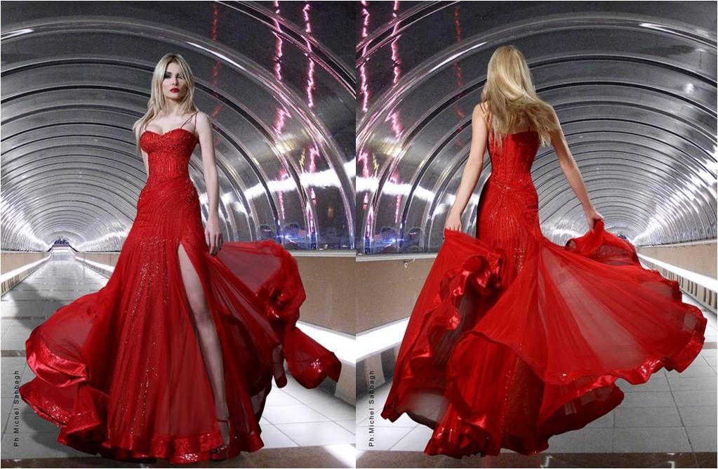 Rami Salamoun | Dresses, Runway dresses, Haute dress