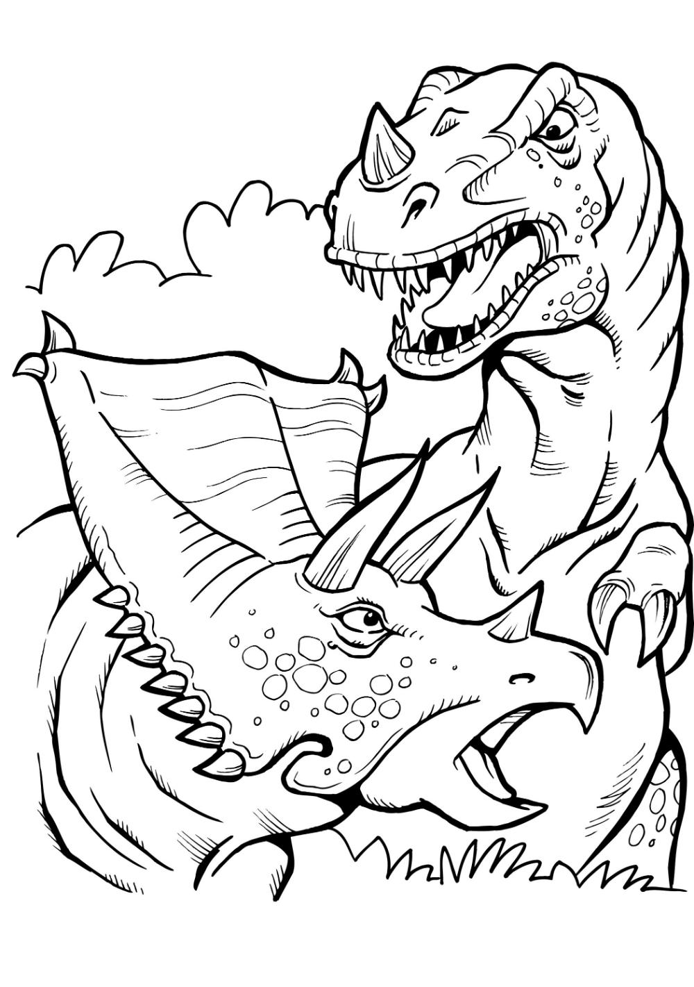 Malvorlage T Rex