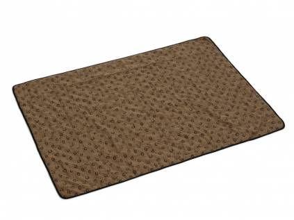 hundedecken m bel beeztees quick cooler aqua k hlmatte f r hunde braun s 51 x 36 cm. Black Bedroom Furniture Sets. Home Design Ideas
