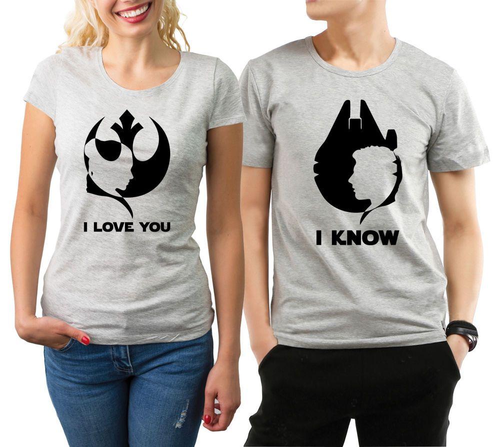 Star Wars Tank Tops  Matching Star Wars Tanks  Star Wars Couples Shirts  I Love You I Know Shirts  Disney Vacation Shirt  Han Solo Tank