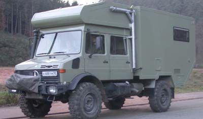 Ormocar Unimog Doka Overland Camper Prepper Expedition Vehicle