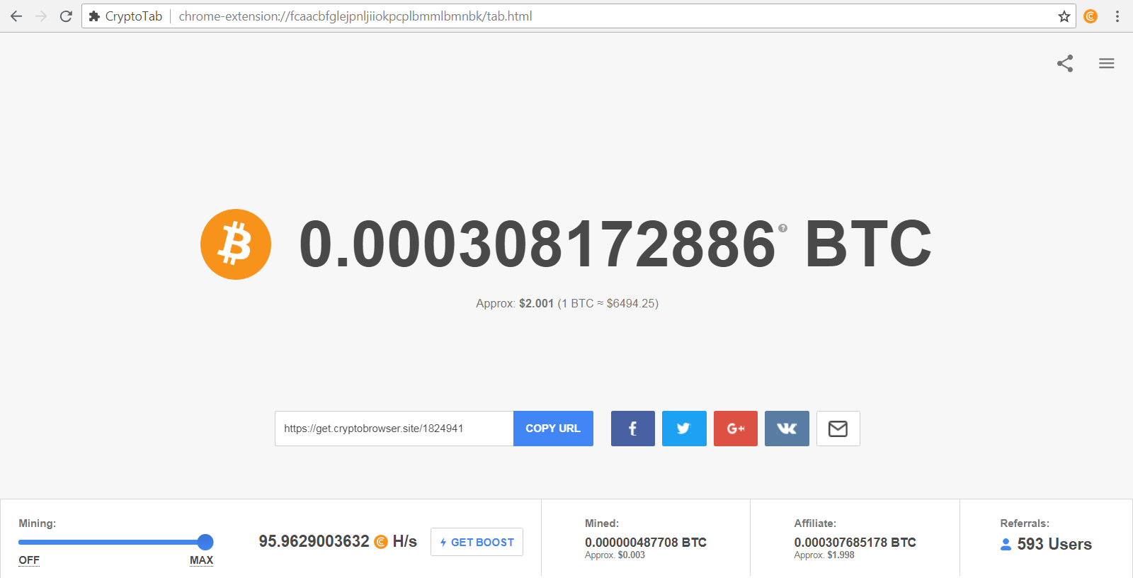 Bitcoin mining with CPU! | Bitcoin mining with CPU