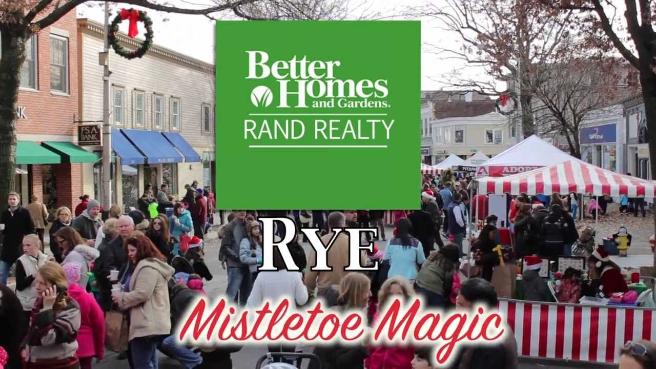 Catch A Glimpse Of Rye Ny At Their Annual Mistletoe Magic