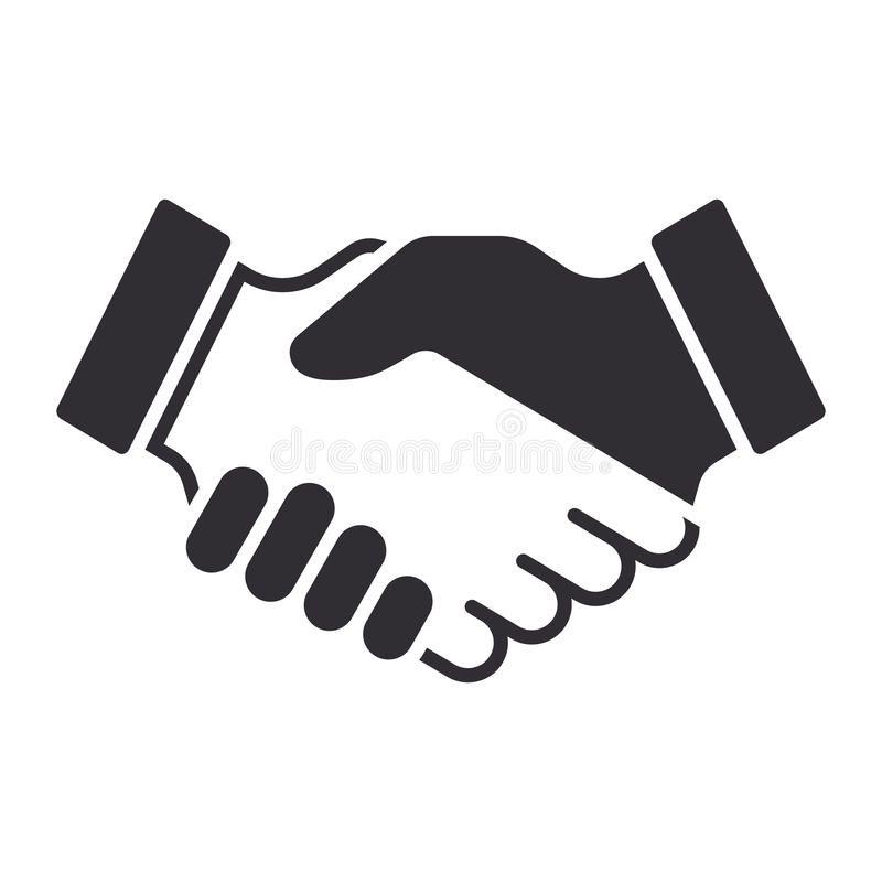 Handshake Icon Partnership And Agreement Symbol Affiliate Icon Handshake Partnership Symbol Agreement Ad Handshake Logo Icon Vector