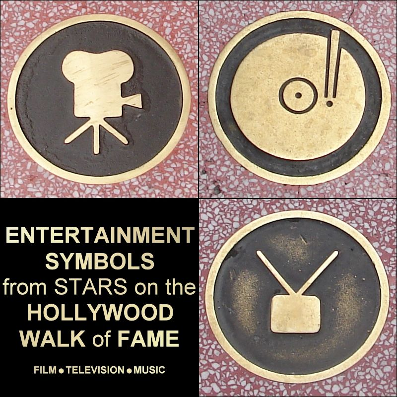 hollywood walk of fame symbols by fantasystockdeviantartcom on deviantart