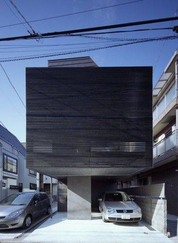 BRUN House, Tokyo, Japan by APOLLO Architects & Associates. Photographs by Masao Nishikawa.