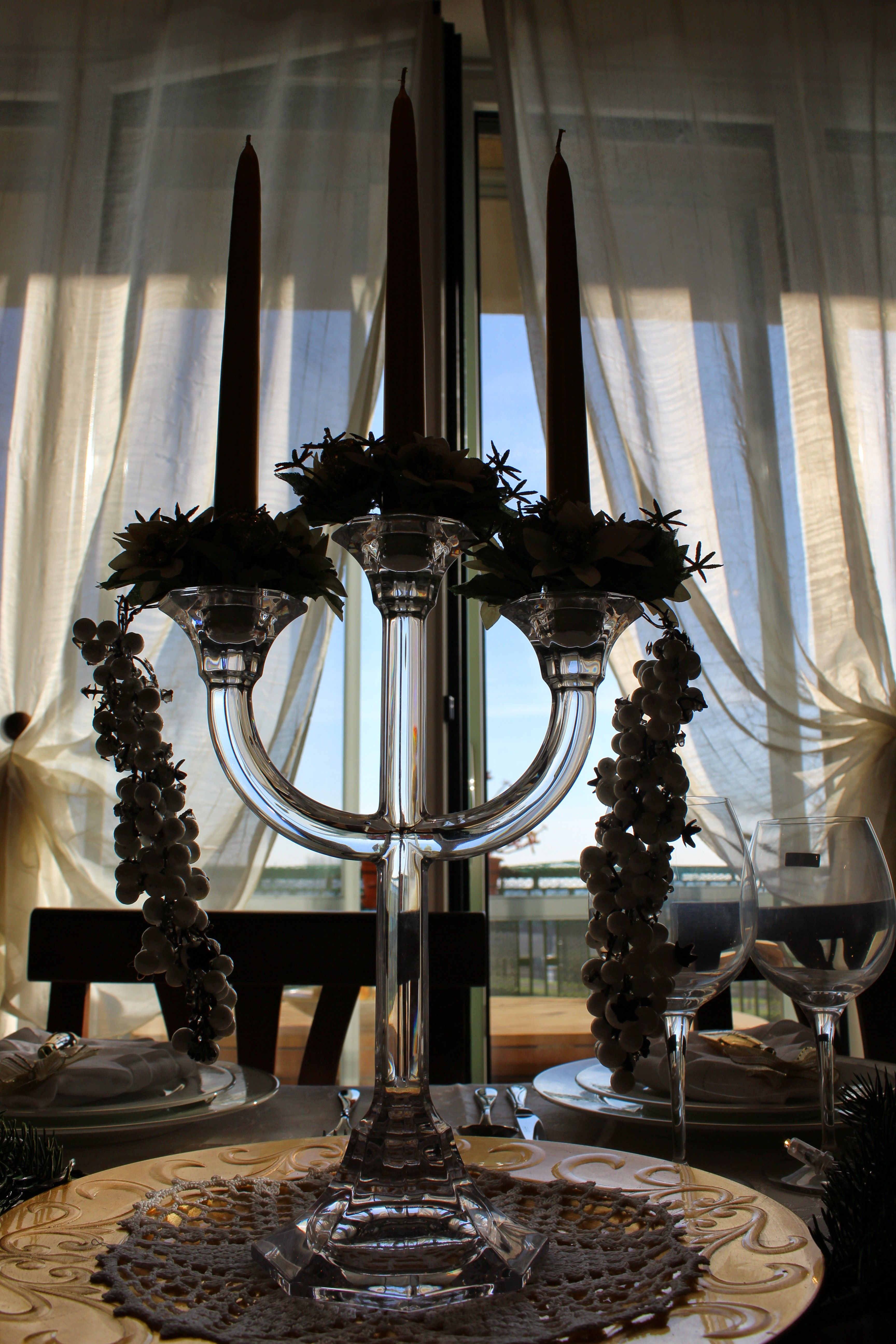 Xmas 2014 At Chiaras Crystal Chandelier Villeroy & Boch