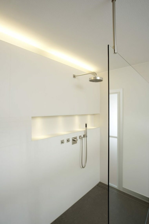 Bande A Led Pour Salle De Bain Petit Espace Badezimmer Innenbeleuchtung Badezimmer Innenausstattung