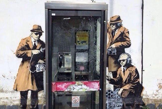 Questa è la nuova opera di Banksy e ovviamente è geniale