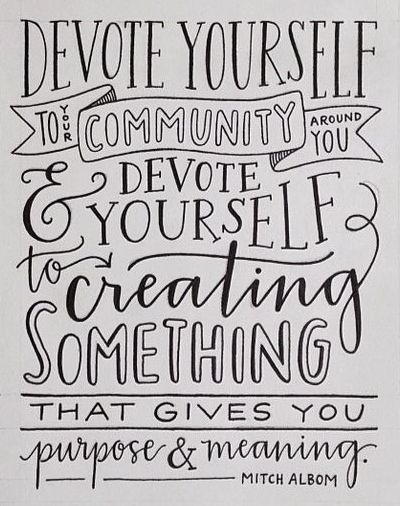 Community Service Quotes Amazing Givingtuesday Serves As A Celebratory Fully Connected Day To Kick .