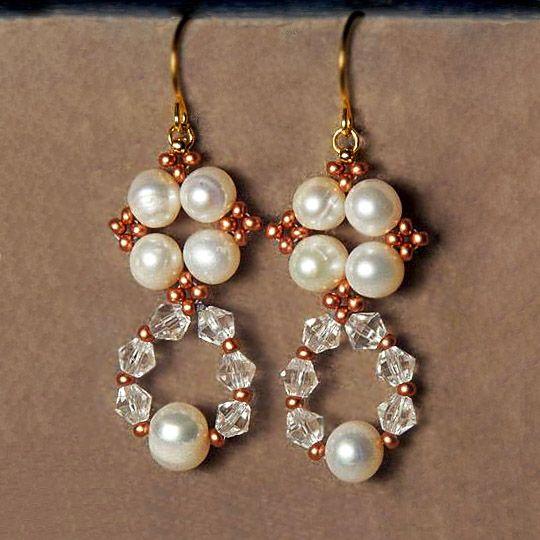 Free pattern for earrings Alberta