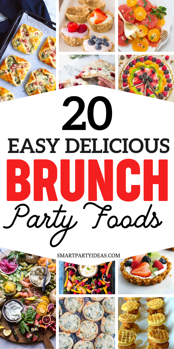 20 Delicious Brunch Party Food Ideas images