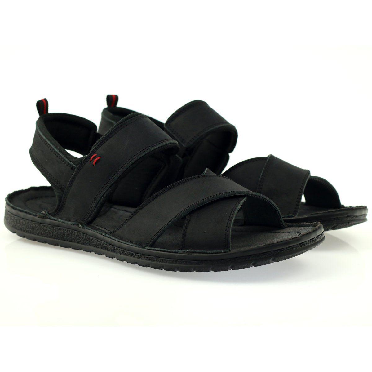 Sandaly Meskie Riko Sandaly Sportowe Riko 852 Czarne Sneakers Men Fashion Sneakers Men Mens Sandals