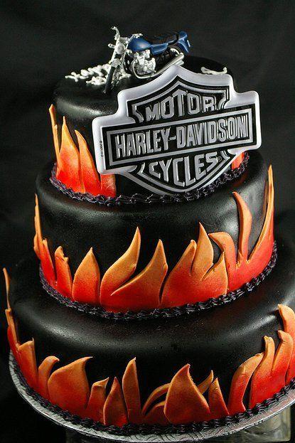 Cumpleanos De Harley Davidson Buscar Con Google 15 Anos