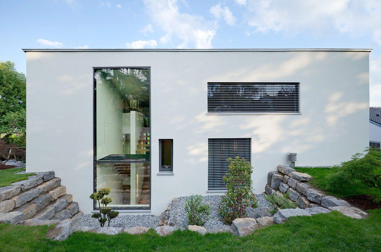 ^ Modernes infamilienhaus. #Kolorat #Haus #Fassade #rchitektur ...