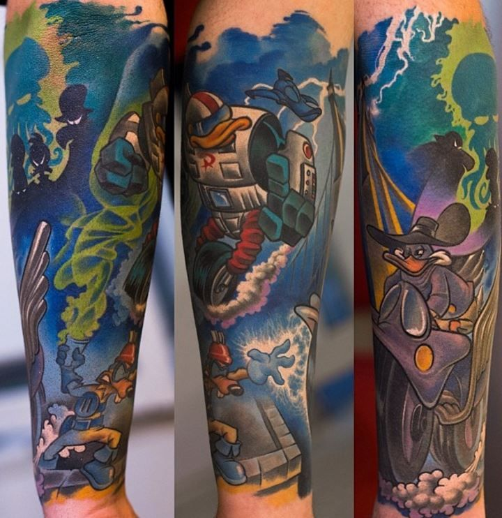 Darkwing Duck Tattoo Schatz