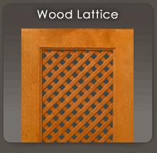 Wood Lattice Inserts For Cabinet Doors