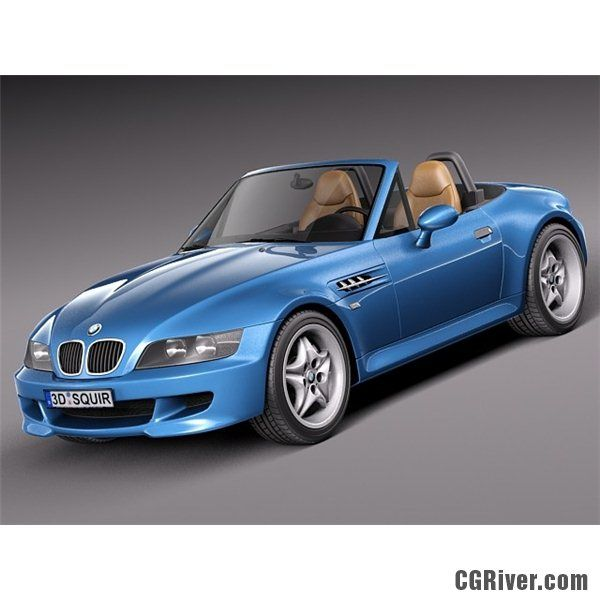 Bmw Z3 M 1998 2002 3d Model Cgriver Bmw Z3 Bmw Used Bmw