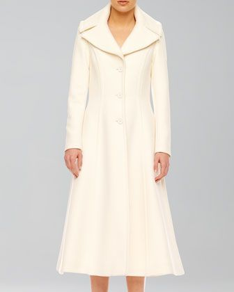 Obsession of the Day: Wool Princess Coat- available at Michael Kors