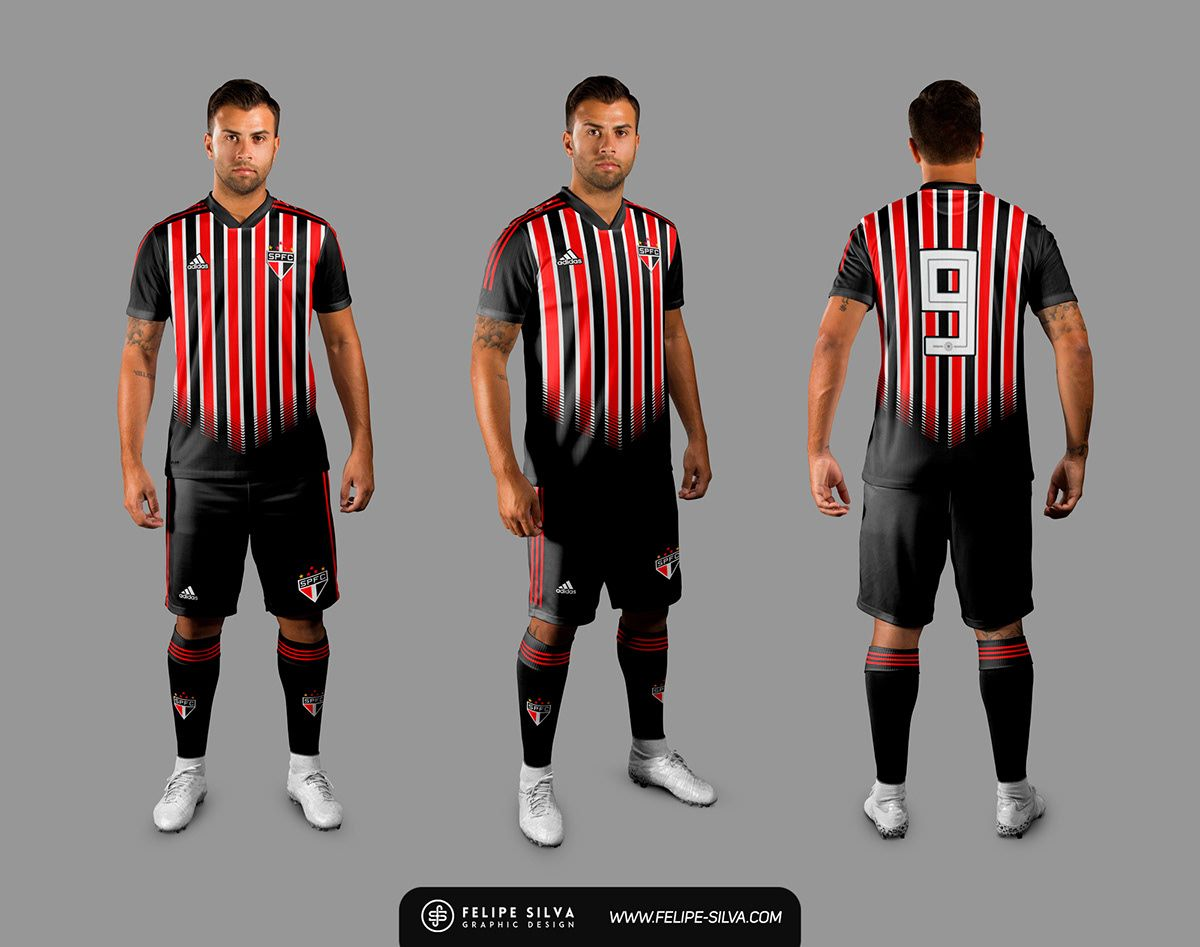 8629f0a0084bd São Paulo FC   Adidas on Behance   Fútbol   Sao paulo, Adidas, Polo