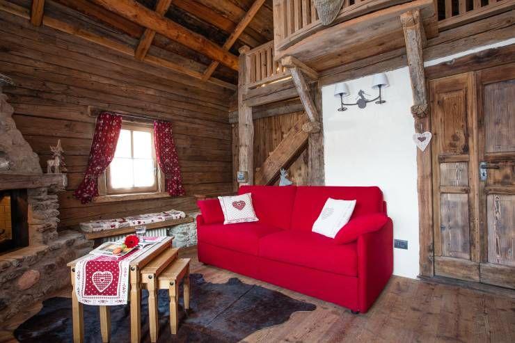 Realizzazione su misura divani per case di montagna di ...