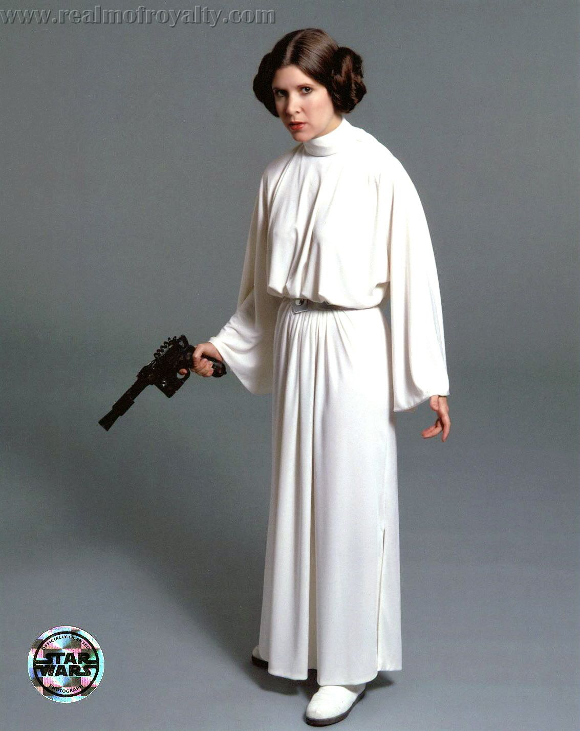 Princess Leia White Dress Carrie Fisher Google Search