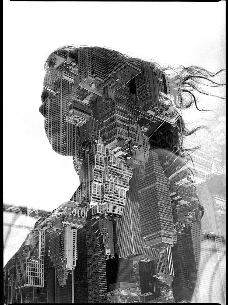 Kodak 400TX - Double Exposure - New York, NY - 2014 © Ken