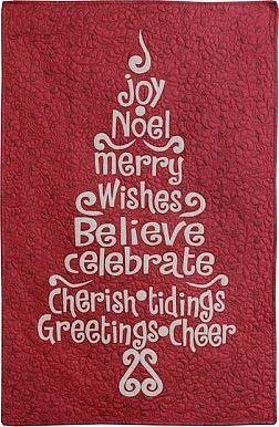 Risultati immagini per happy christmas quilt