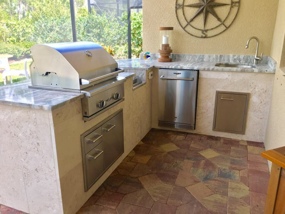 Outdoor Kitchens Are In Style The Perfect Place To Hangout Enjoy Friends And Family Entertain And Coo Outdoor Kitchen Outdoor Kitchen Patio Outdoor Remodel