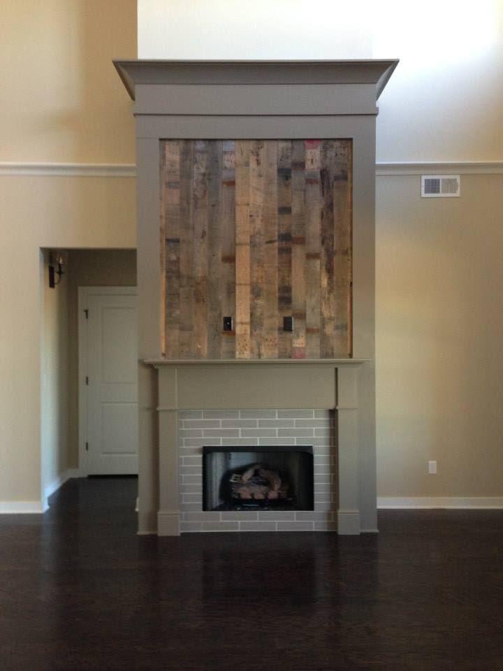 Diy Rustic Fireplace