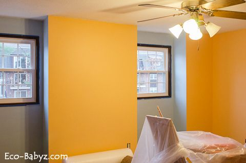 Our kids room that needs a facelift and furniture! #roomandboard, #yolocolorhouse and #annies