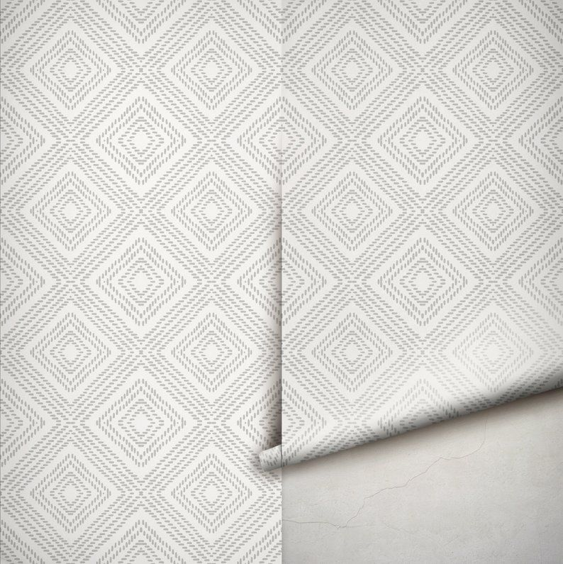 Minimalistic Abstract Geometric Self Adhesive Wallpaper Etsy Self Adhesive Wallpaper Adhesive Wallpaper Removable Wallpaper