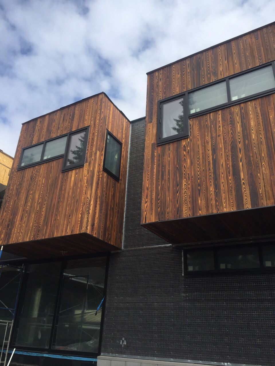 TORA shou sugi ban charred wood exterior siding by reSAWN TIMBER co ...