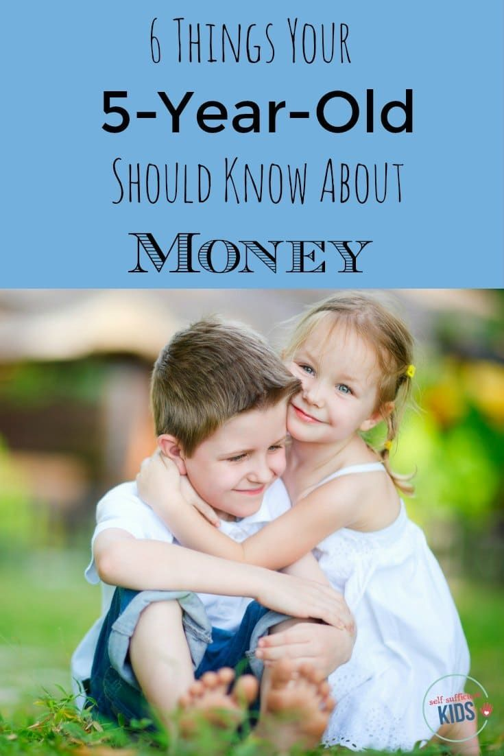 6 Things Your 5 Year Old Should Know About Money Stay At Home Mom