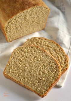 Pan de molde integral de avena
