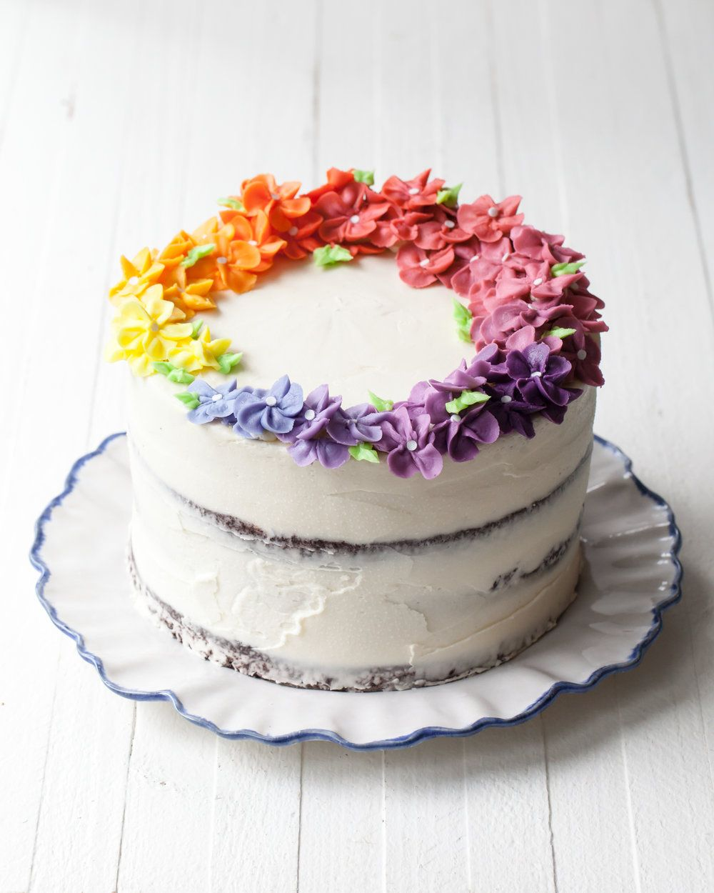 How to make a rainbow cake — Style Sweet