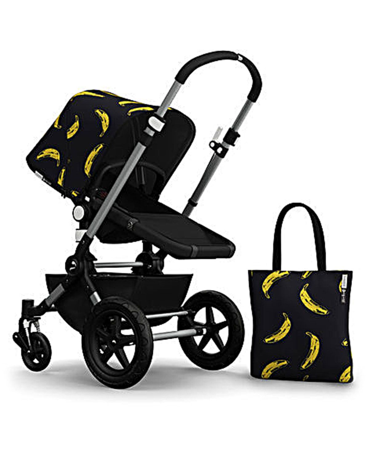 Andy Warhol Cars Bugaboo Cameleon//Cameleon3 Tailored Fabric Set