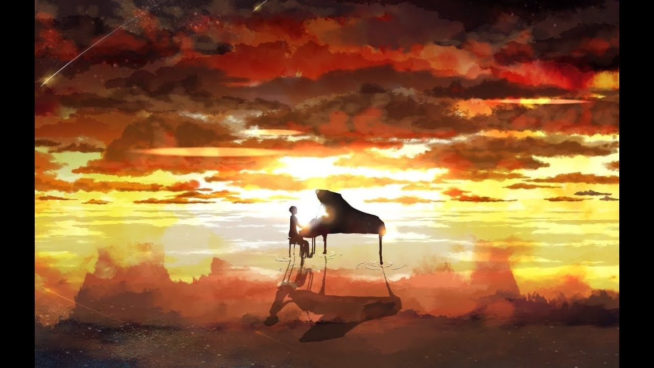 Top 10 Most Emotional Relaxing Music Piano Instrumental Love Songs 201 Your Lie In April Anime Wallpaper Anime Scenery