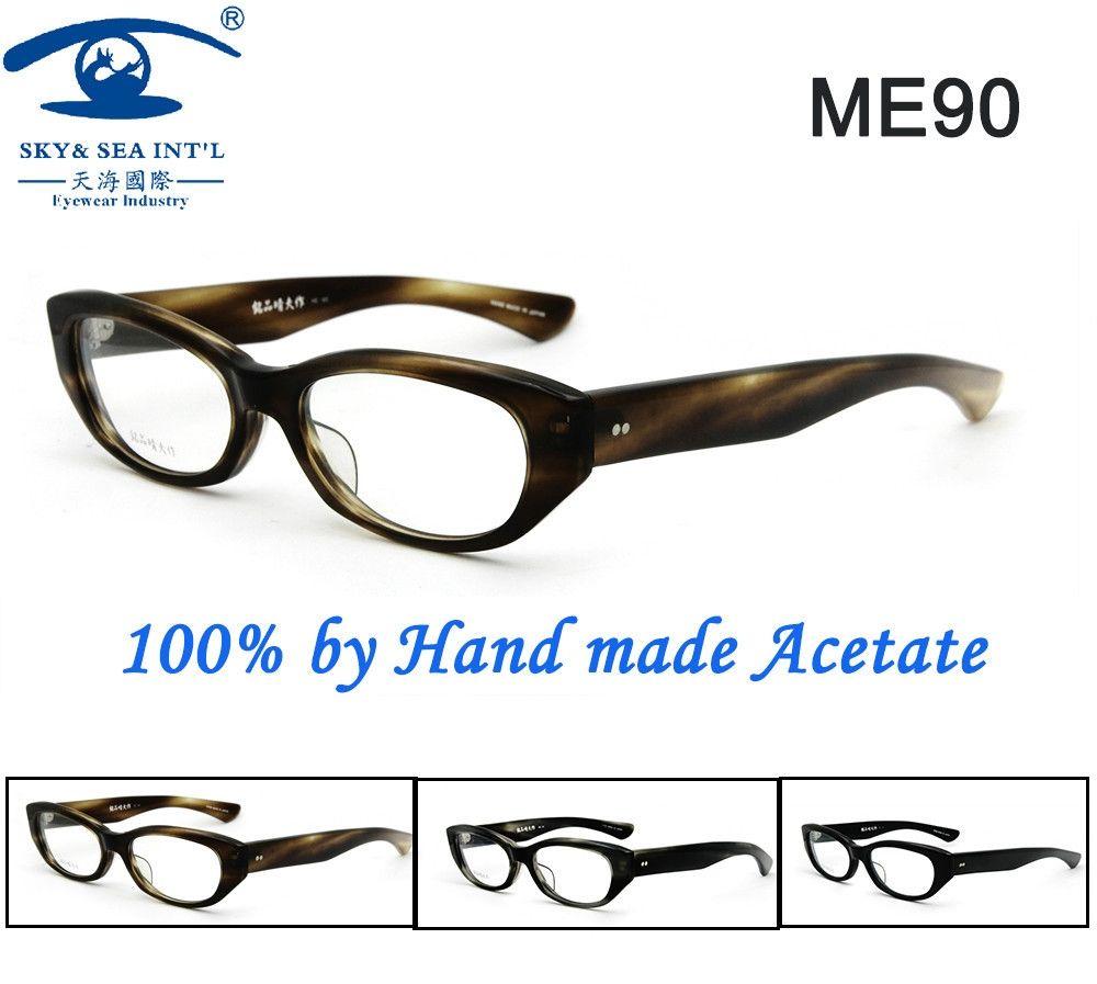 14c16be765 Free Shipping Original Designer 100% Handmade Acetate Cat eye Glasses Frames