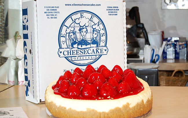 Escolha a tradicional cheesecake da Eileen's e com certeza estará comendo uma das melhores sobremesas em Nova York.