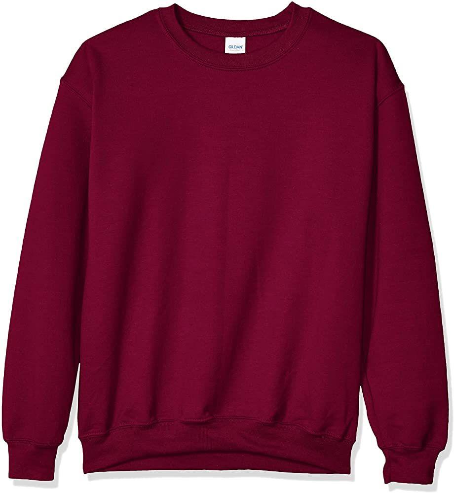Gildan Men S Heavy Blend Crewneck Sweatshirt Large Black At Amazon Men S Clothing Store Sweatshirts Fleece Shirt Crew Neck Sweatshirt [ 1000 x 920 Pixel ]