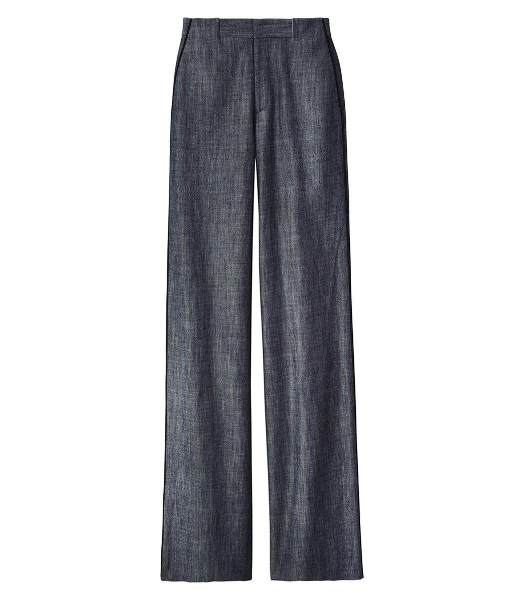 Adam Lippes: Wide-Leg Denim Trousers