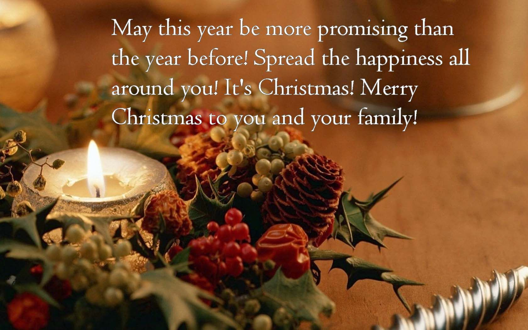 Holiday Wishes Quotes Status For New Year  Christmas Day Wishes Or Messages Collection